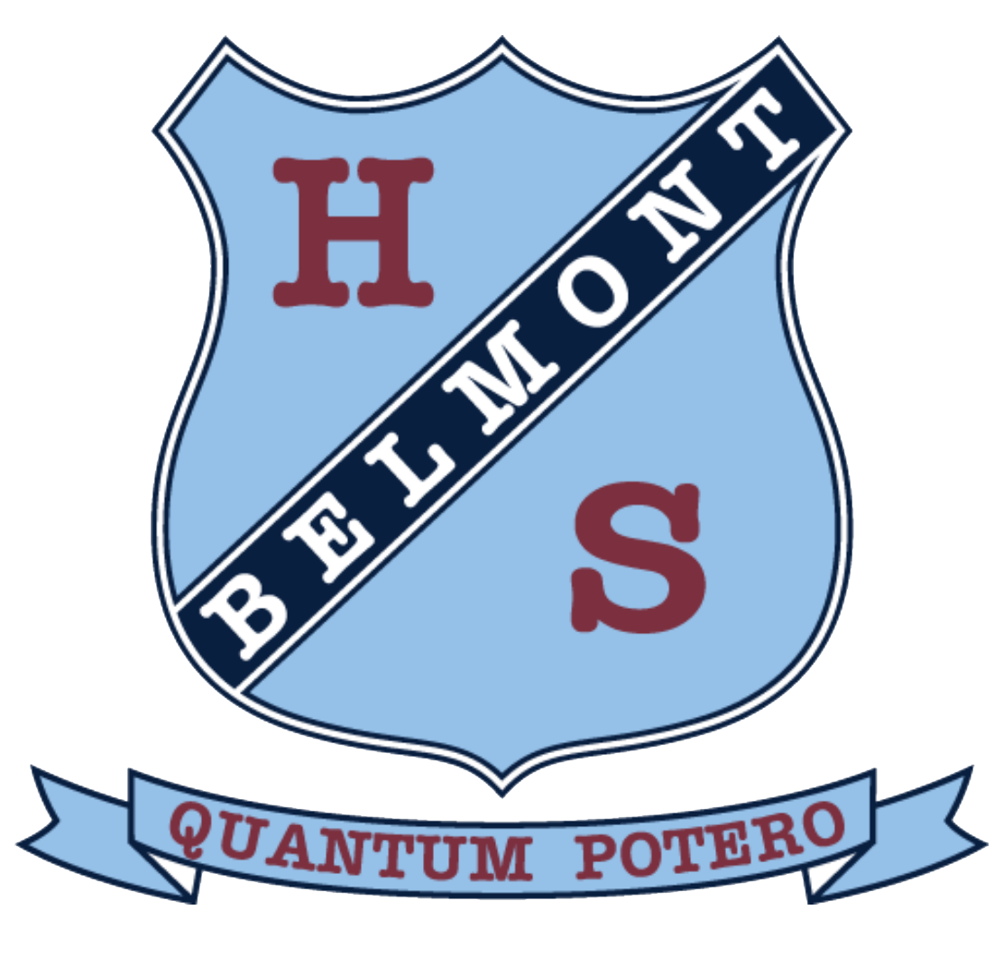 Belmont High School logo